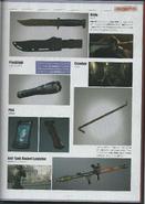 Biohazard DAMNATION Artbook 23