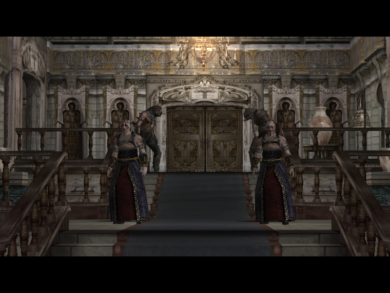 Castle/Gatekeeper hallway
