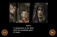 RE4 mobile edition - Rescue Ashley cutscene 5 part 6