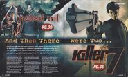 Resident Evil 4 - Game Informer March 2004, Issue 131 - p28-29