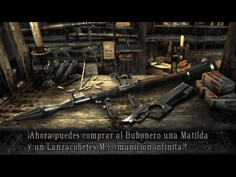Armas de Resident Evil 4