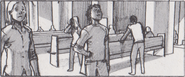 Resident Evil 6 storyboard - Tall Oaks Cathedral 21