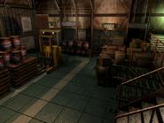 Resident Evil 3 background - Uptown - warehouse c2 - R10114