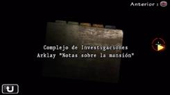 Complejo de Investigaciones Arklay Notas sobre la mansión.png