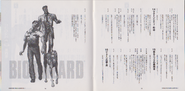 BIO HAZARD The Doomed Raccoon City Vol.1 booklet - pages 18 and 19