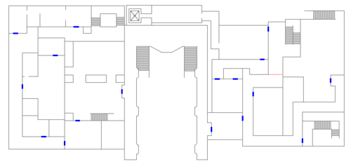 RE2 remake RPD 2F map.png