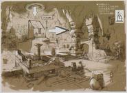 Resident Evil 5 Ndipaya Kingdom concept art 9