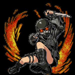 BIOHAZARD Clan Master - Lady Hunk 01.png