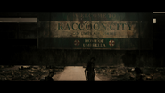 Final Chapter - Raccoon City welcome sign