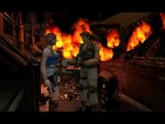 Resident Evil 3- Nemesis cutscenes - After the explosion