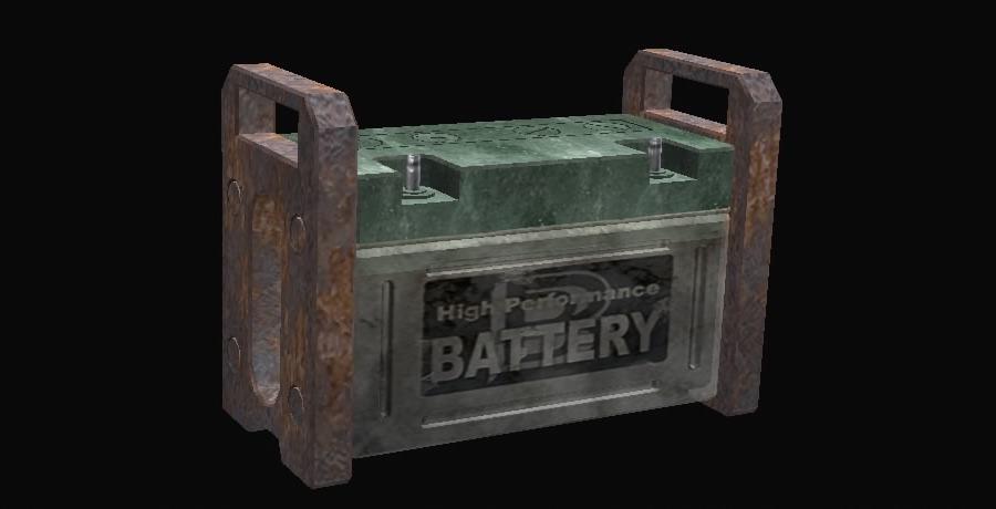 Batería de corriente alta