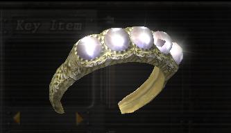 Brazalete de Oro con Perlas