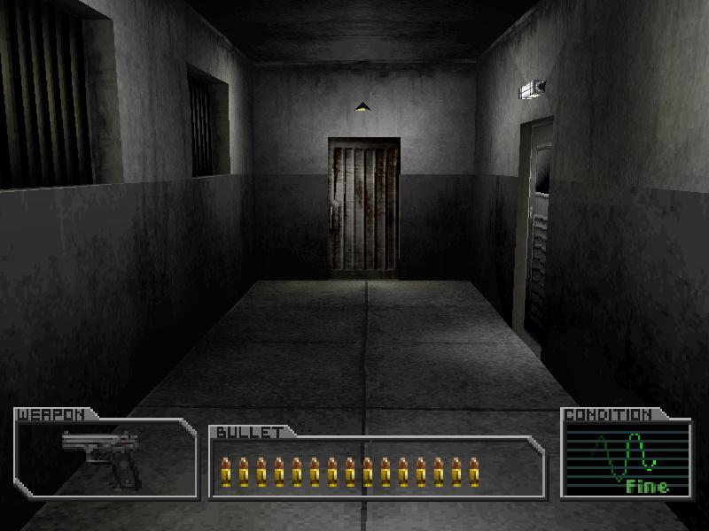 Bathroom corridor