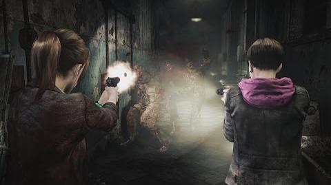 Resident Evil- Revelations 2 gameplay video introduce attacking, controls and menus