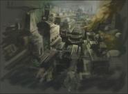 Resident Evil 5 Ndipaya Kingdom concept art 1