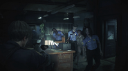 Zombie officers - Resident Evil 2 remake