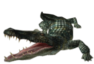 Alligator Resident Evil Gun Survivor Render