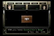 Resident Evil 0 Trial Edition DVD - Conductor's Bag detail