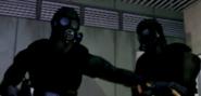 HUNK CGI cutscene RE2 1998