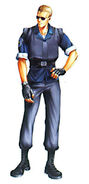 RE1 (1996) Wesker Concept Art