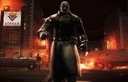 Mr. X Operation Raccoon City Appearance