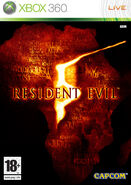 Resident Evil 5 Xbox 360 PAL cover