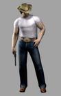 Resident evil outbreak kevin ryman artwork alternate costme cow boy (2)
