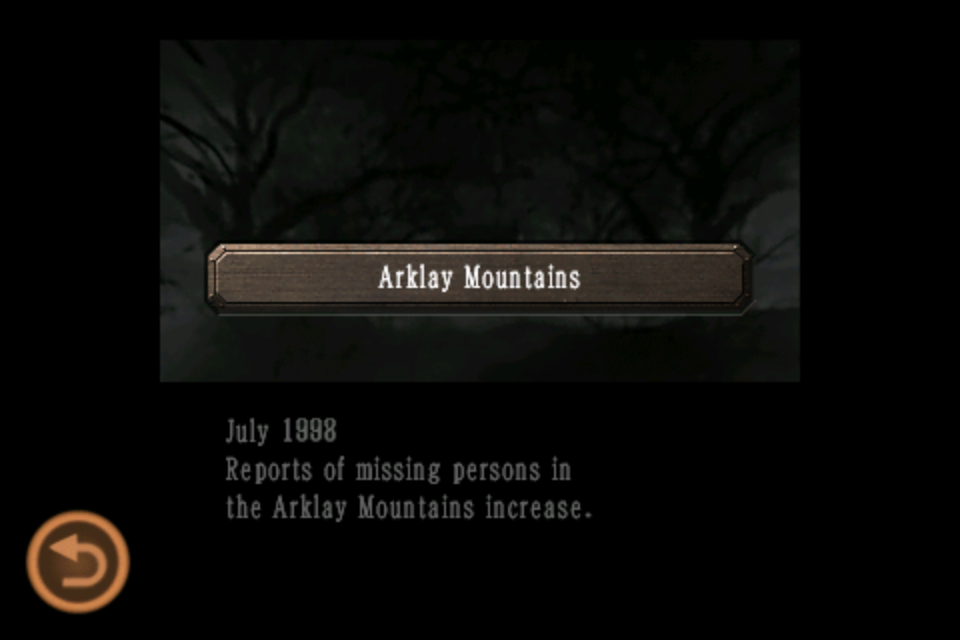 Arklay Mountains (Mobile Edition file)