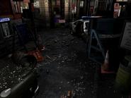 Resident Evil 3 background - Uptown - boulevard h2 - R11E07