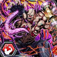BIOHAZARD Clan Master - BOW card - Nemesis-T Type3
