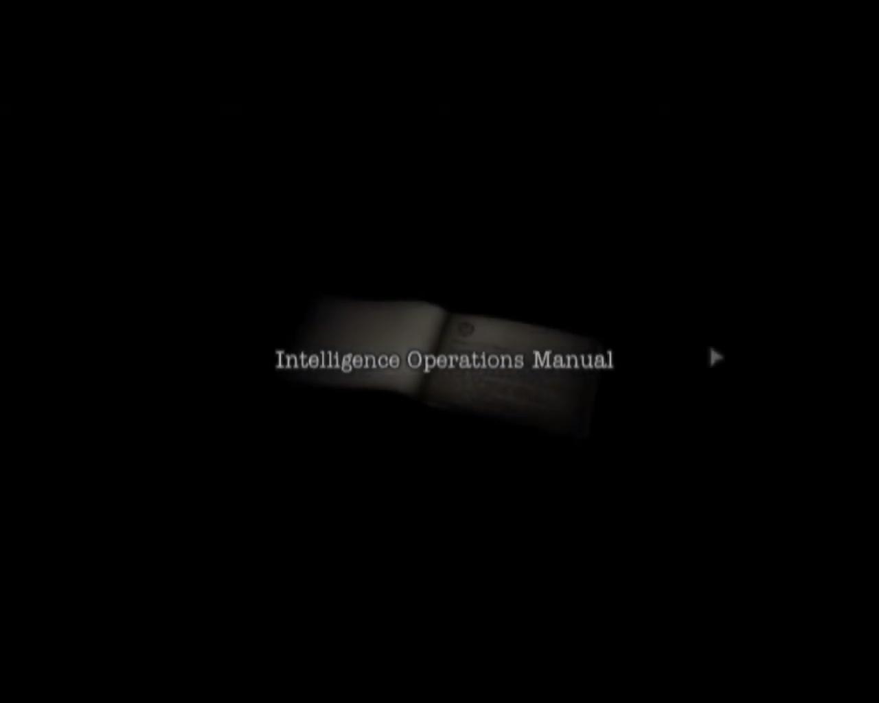 Intelligence Operations Manual