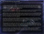Leon and the Raccoon City Incident RE.NET