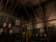 Resident Evil 3 background - Uptown - warehouse r - R1010B