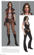RE6 default Helena concept art
