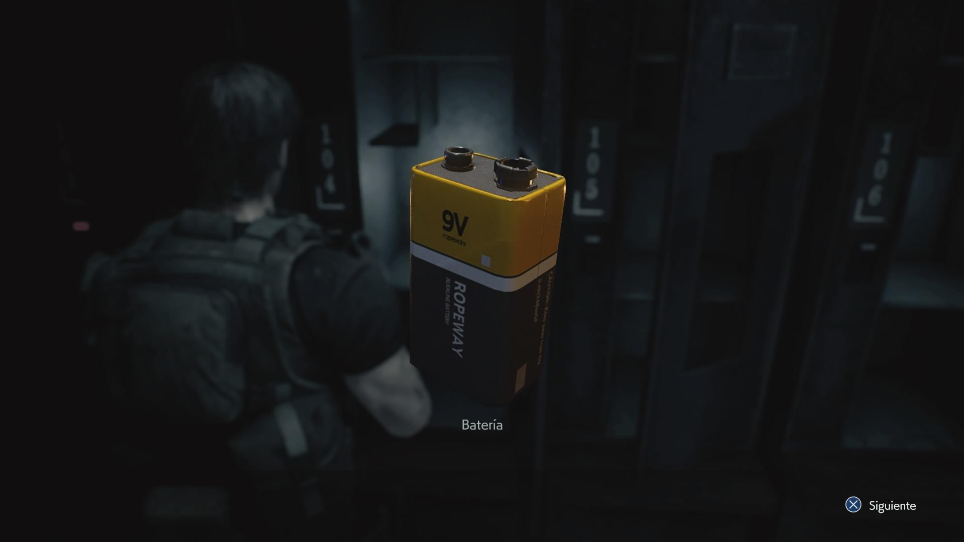 Batería (RE3 remake)
