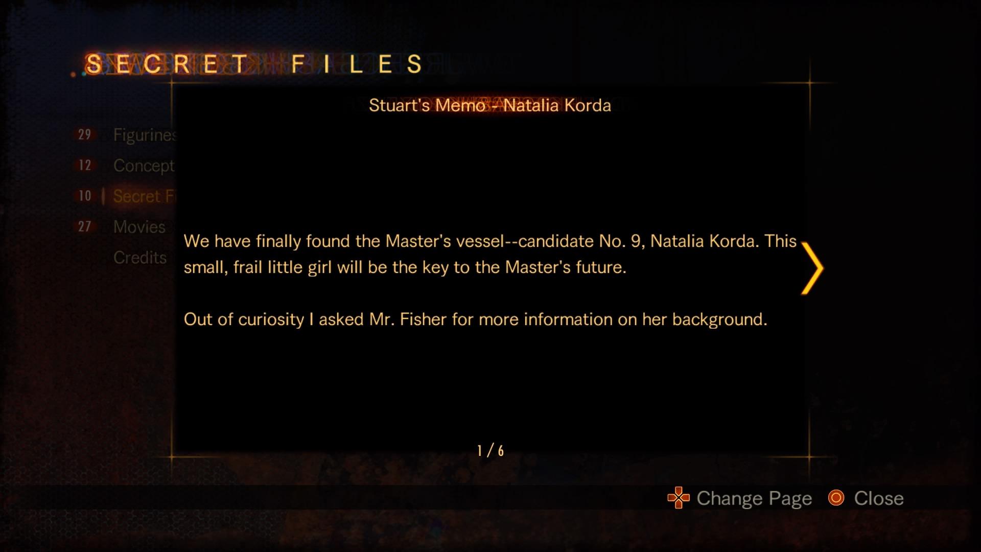 Stuart's Memo - Natalia Korda