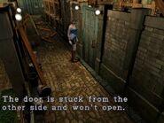 Stucked door