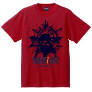 Biohazard 7 T-shirt red