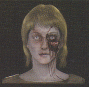Degeneration Zombie face model 54