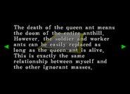 RECV - Queen Ant Report 4