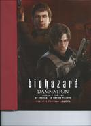 Biohazard DAMNATION Artbook 3