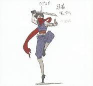 BIOHAZARD REVELATIONS 2 Concept Guide - Strider Hiryu-style Moira