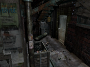Resident Evil 3 background - Uptown - boulevard b1 - R10300