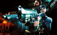 Resident Evil 5 Gold Edition - Jill and Chris wallpaper 3