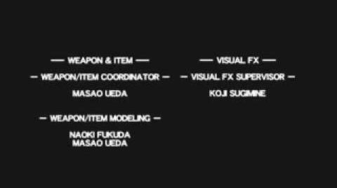 Resident Evil Outbreak File 2/credits