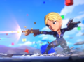 Jill in Puzzle Fighter Mobile Game 2017