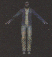 Degeneration Zombie body model 33
