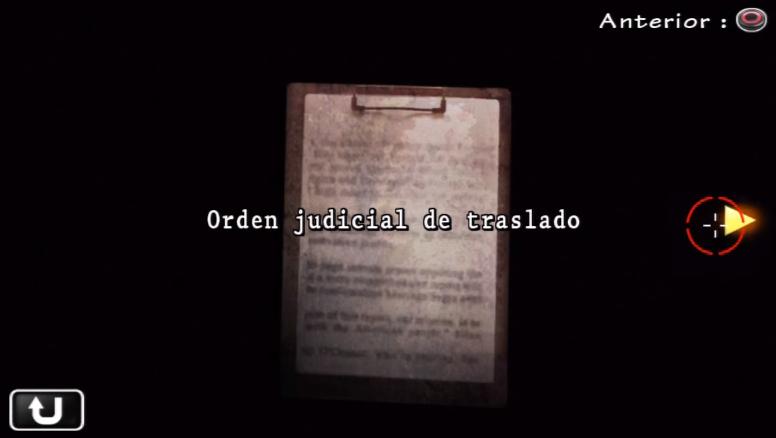 Orden judicial de traslado