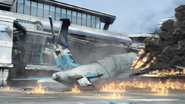 Degeneration - Crashed aeroplane from outside