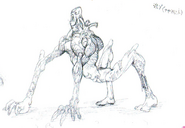 Early Licker concept art 8